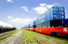 Transport from China to Tajikistan by railway, truck and air