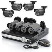 Установка камер видеонаблюдения.  устои камера